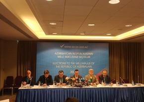 GUAM PA hails elections in Azerbaijan as 'free and fair'