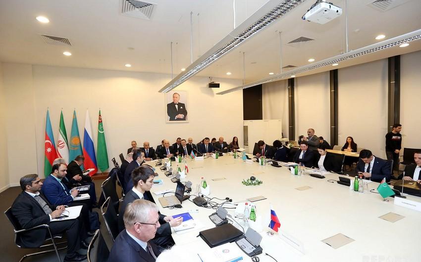 Meeting of High-Level Working Group on Caspian Sea underway in Baku