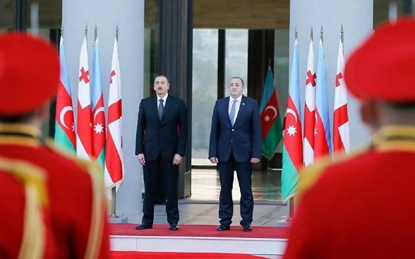 В Тбилиси проходит встреча президентов Грузии и Азербайджана