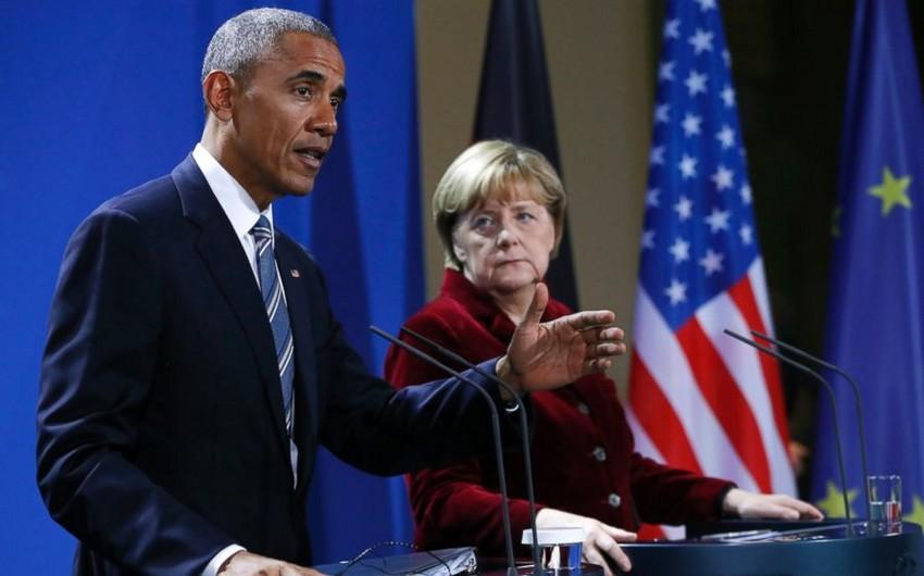 ABŞ prezidenti və Aİ liderləri Rusiyaya qarşı sanksiyaların müddətinin uzadılması ilə bağlı razılığa gəliblər