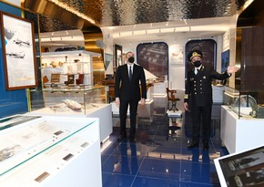 Ilham Aliyev inaugurates new administrative building of Caspian Sea Shipping Company