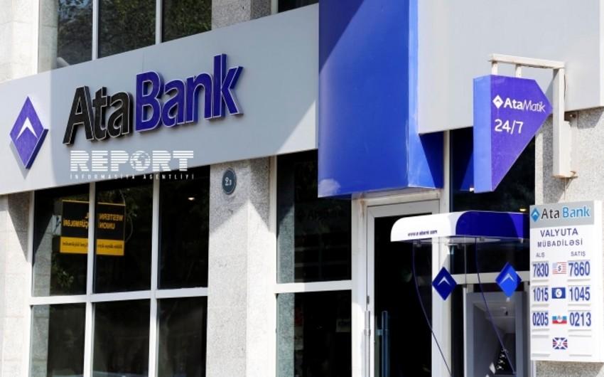 AtaBankın aktivləri son bir ildə 55% artıb