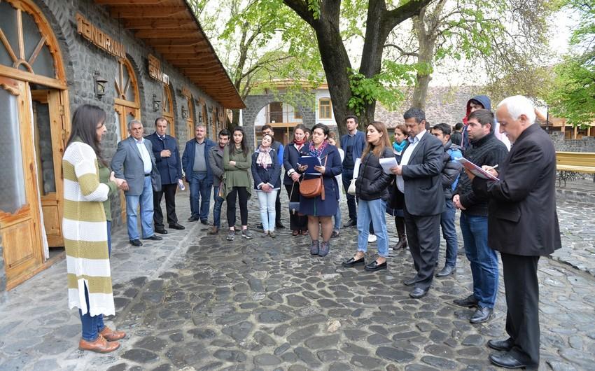 RİİB-in təşkilatçılığı ilə Şəki-Zaqatala regionunda turizm bələdçiləri üçün təlim keçirilib