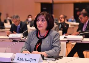 Sahiba Gafarova: Armenia committed acts of separatism, terrorism against Azerbaijan