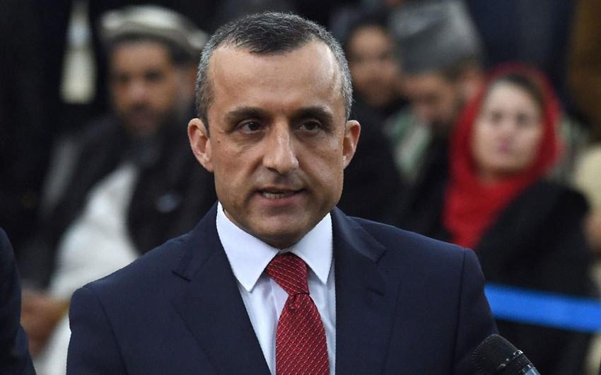 """Əmirulla Saleh: """"Nə qədər ki sağam, """"Taliban"""" səsimi boğa bilməyəcək"""""""