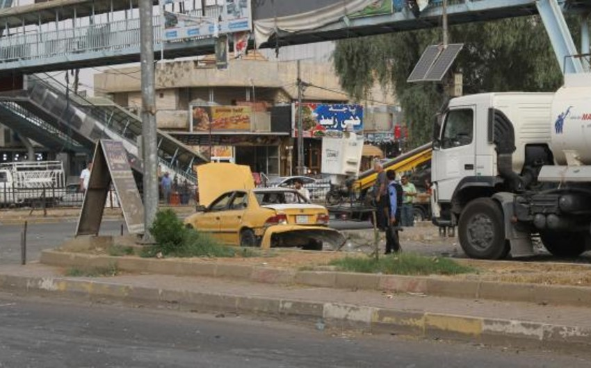 Bağdadda silsilə partlayışlar nəticəsində 6 nəfər ölüb