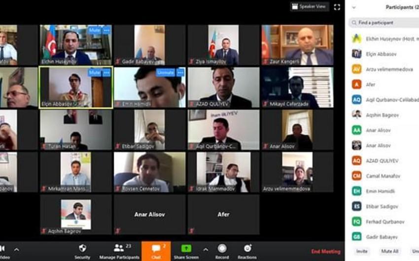 Doqquz rayonun iştirakı ilə regional videokonfrans keçirilib - FOTO