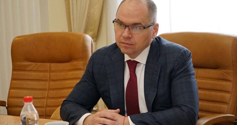 Ukraynanın səhiyyə naziri işdən çıxarıldı