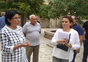 Фарах Алиева: Начата работа над проектами по восстановлению  Агдама