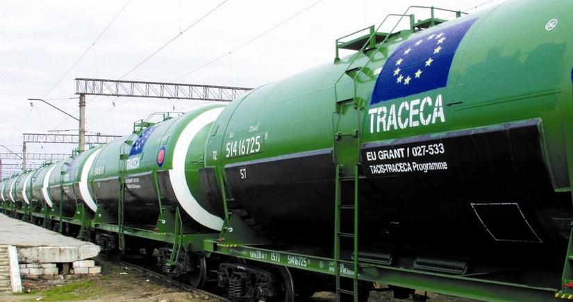 Грузоперевозки по азербайджанскому сегменту TRACECA снизились на 22%