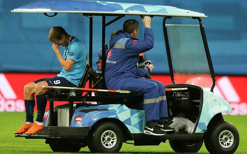 Rusiya millisinin futbolçusu Aleksandr Kokorinin diz bağları qırılıb