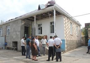 Проводится оценка ущерба, причиненного населённым пунктам и имуществу мирных жителей Товузского района
