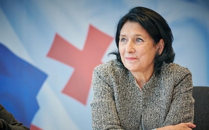 """Gürcüstan prezidenti: """"Qafqazın inkişafı üçün əməkdaşlığın alternativi yoxdur"""""""