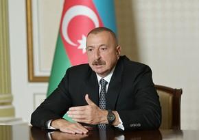 Dövlət başçısı: Milli uyuşmazlıqdan danışan Ermənistan prezidenti özünün faşist mahiyyətini nümayiş etdirib