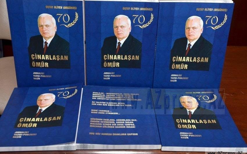 Azərbaycan Mətbuat Şurası ahıl jurnalistin 70 yaşını qeyd edib