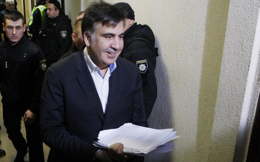 Ukrayna Baş Prokurorluğu Saakaşvilini istintaqa çağırıb