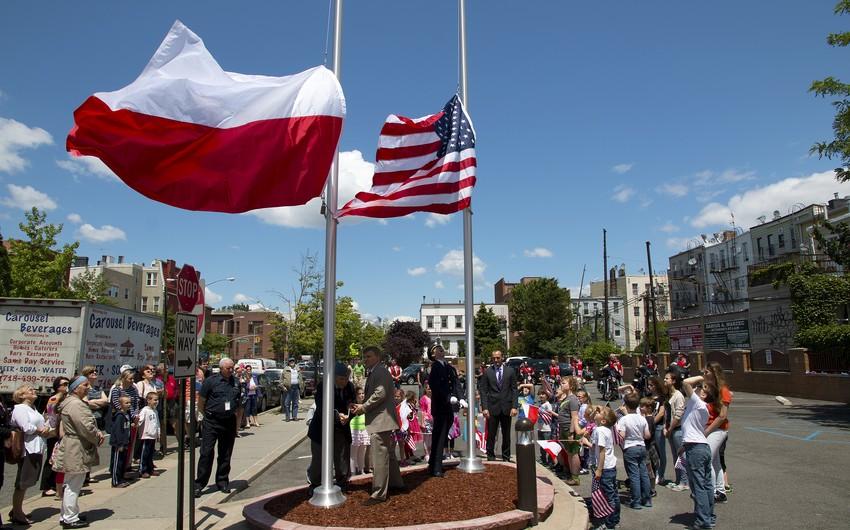 ABŞ və Polşa hərbi əməkdaşlığı gücləndirir