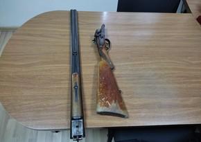 Saatlı sakini odlu silahı polisə təhvil verib