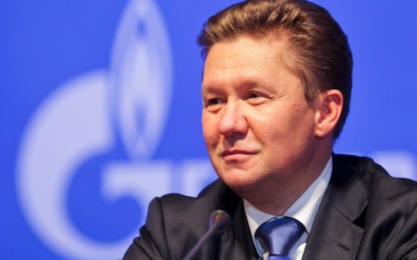 Miller: Rusiya Ukraynaya yalnız əvvəlcədən ödəniş əsasında qaz nəql edəcək
