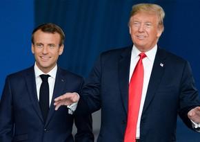 Donald Tramp Emmanuel Makronun vəzifəsini dəyişik saldı