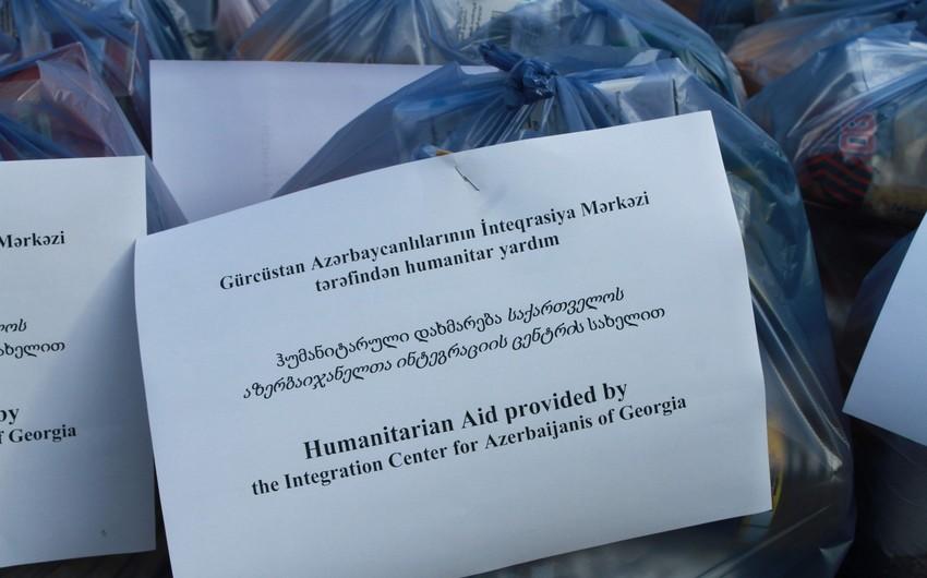 GAİM Gürcüstanda 200-dən çox ailəyə ərzaq yardımı etdi