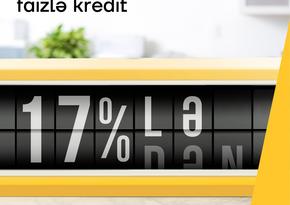 """""""Yelo Bank""""dan illik 17 %-lə kreditlər"""