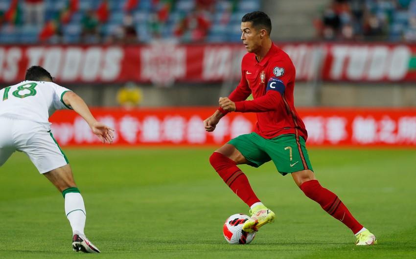Криштиану Роналду пропустит матч с Азербайджаном