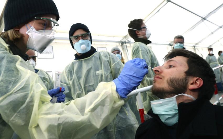 Almaniyada infeksiyaya yoluxanların sayı 195 mini keçdi