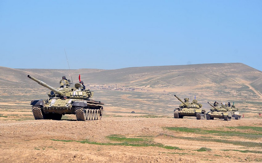 Tank units conduct intensive combat training sessions