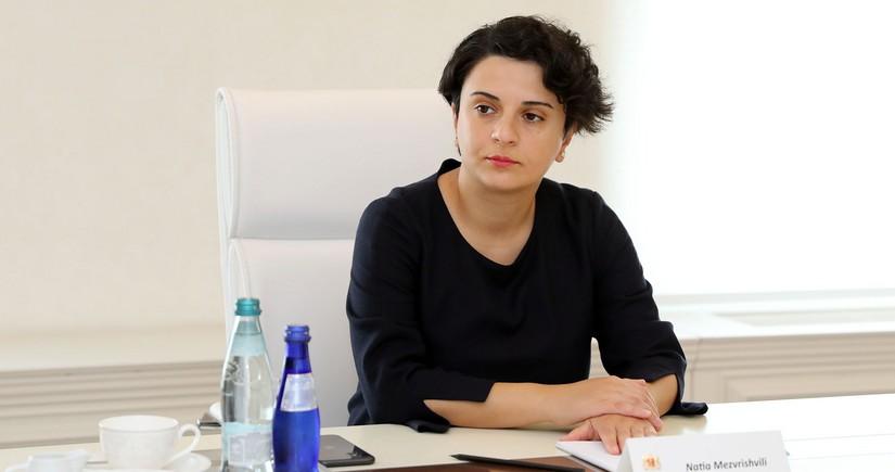 Gürcüstanın hökumət administrasiyasının rəhbəri istefa verib