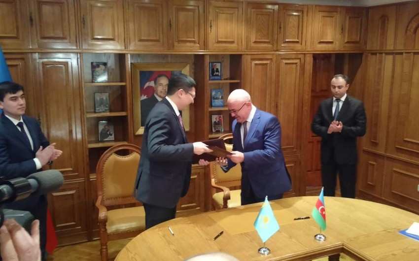 Azərbaycan və Qazaxıstan gömrükçüləri əməkdaşlığı genişləndirir
