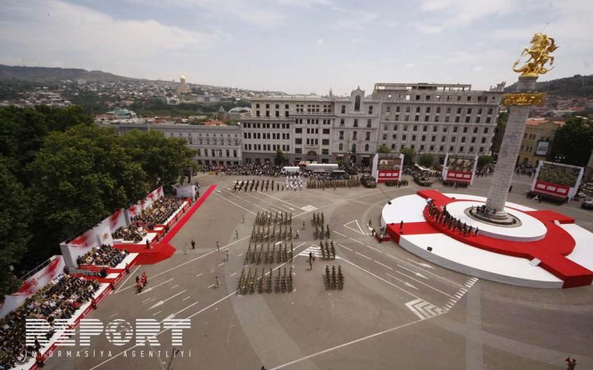 Bakıda Gürcüstanın Müstəqillik günü ilə əlaqədar rəsmi qəbul təşkil olunub