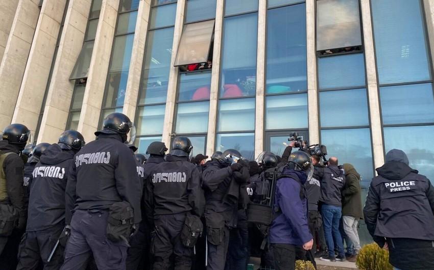 Gürcüstanda qanuni oğrulara qarşı əməliyyat keçirilib, 13 nəfər saxlanılıb