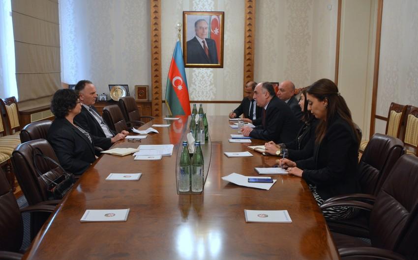 Azerbaijani Foreign Minister receives Israeli Ambassador