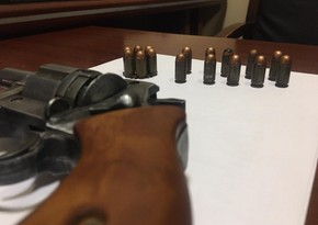 Gəncə sakinində silah aşkarlanıb