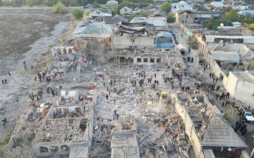 Отчет: Во время войны Армения грубо нарушила нормы международного гуманитарного права