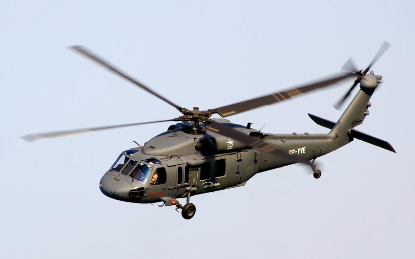 Cənubi Koreyada hərbi-tibb helikopteri qəzaya uğrayıb