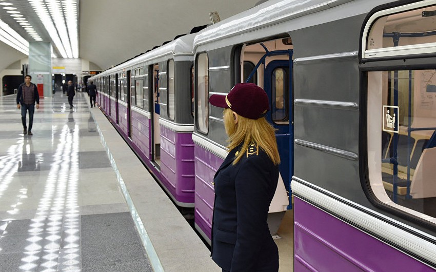 Bakı metrosundan istifadə edən sərnişinlərin sayı azalıb