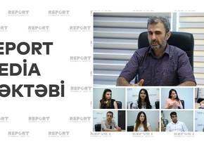 Report Media Məktəbinin növbəti qrupu yeni təlim proqramına qoşuldu