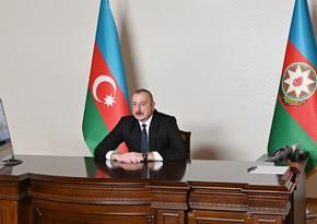 Prezident İlham Əliyev Rusiya Hökumətinin sədr müavini ilə görüşüb