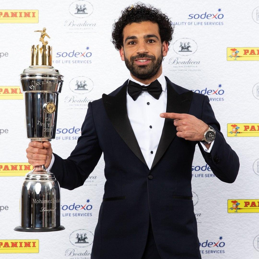 Мохамед Салах - футболист года в АПЛ