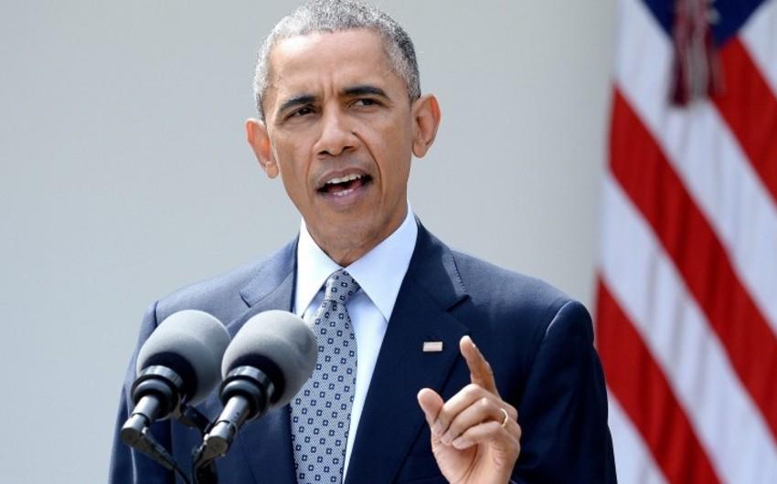 Obama Səudiyyə Ərəbistanında insan haqları ilə bağlı narahatlığını bildirib