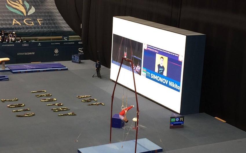 Azərbaycan gimnastı Bakıdakı Dünya Kubokunda gümüş medal qazanıb