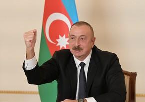Президент Азербайджана: Освобожден ряд сел в 4 районах