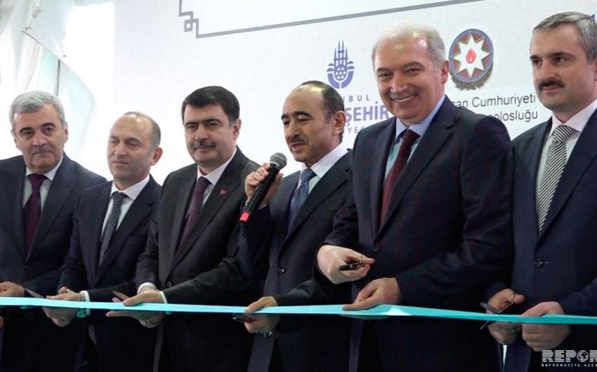 """İstanbulda """"Xocalı qətliamı"""" abidəsi və """"Azərbaycan dostluq parkı""""nın açılışı olub"""