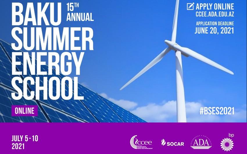 15th Baku Summer Energy School kicks off today
