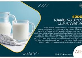 Südün tərkibi və bioloji xüsusiyyətləri -MƏQALƏ