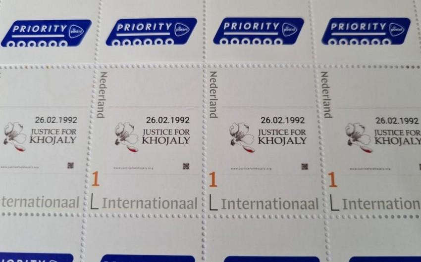 В Нидерландах выпущены почтовые марки, посвященные Ходжалинскому геноциду