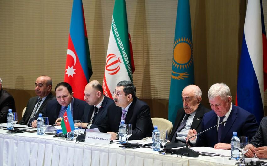 Халаф Халафов: Каспий является важной частью ряда проектов, направленных на обеспечение мировой энергетической безопасности