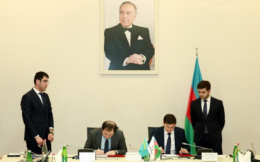 "AZPROMO və ""KazakhExport"" arasında Anlaşma Memorandumu imzalanıb"